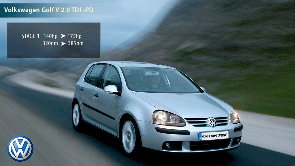 Volkswagen Golf V 2.0 TDI -PD